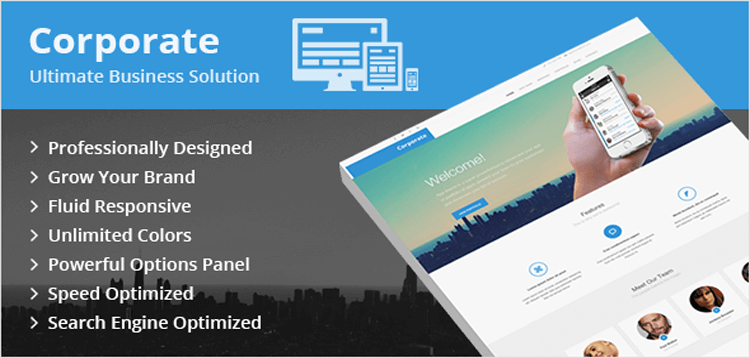 Item cover for download MyThemeShop Corporate WordPress Theme