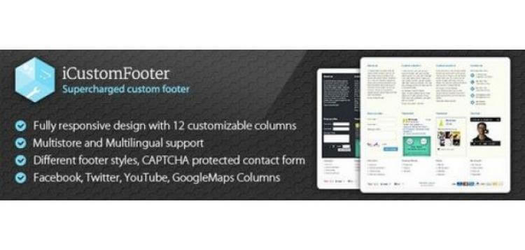 Item cover for download iCustomFooter - Exclusive Powerful Custom Footer