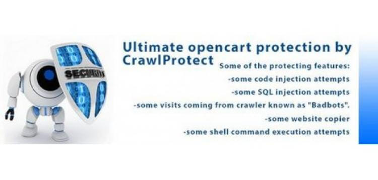 Item cover for download Ultimate Opencart Protection - Real Time smart protection