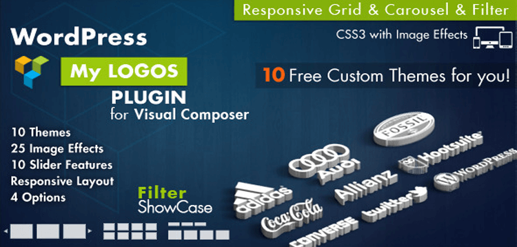 Item cover for download Logos Showcase for Visual Composer WordPress