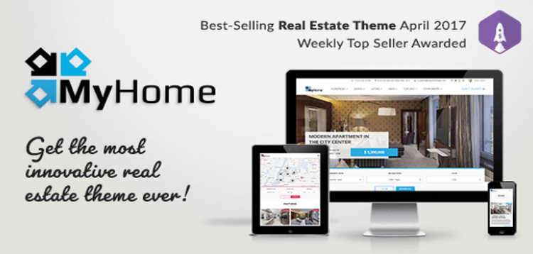 Item cover for download MyHome - Real Estate WordPress Theme