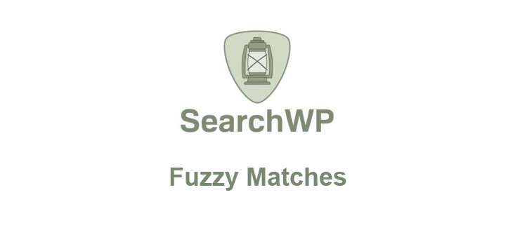 Item cover for download SearchWP – Fuzzy Matches