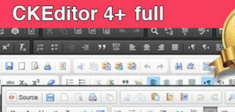 Item cover for download CKEditor 4+ (4.7.3) OpenCart - Full