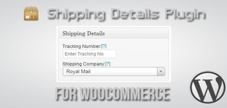 Item cover for download Shipping Details Plugin for WooCommerce