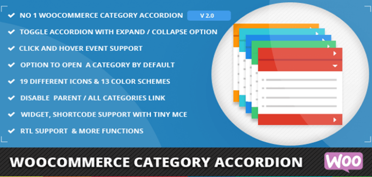Item cover for download WooCommerce Category Accordion