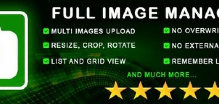 Item cover for download Full Image Manager 2.x - A MUST HAVE KIND OF EXTESION v2.x
