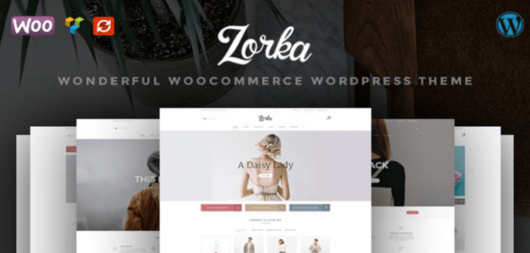 Item cover for download ZORKA – Wonderful Fashion WooCommerce Theme