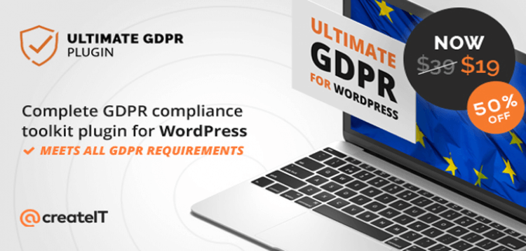 Item cover for download Ultimate WP GDPR Compliance Toolkit for WordPress