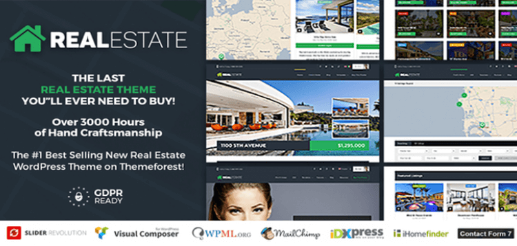 Item cover for download Real Estate 7 - Real Estate WordPress Theme