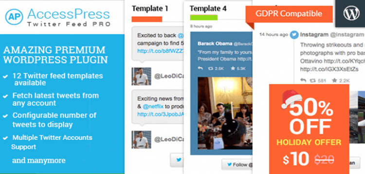 Item cover for download AccessPress Twitter Feed Pro