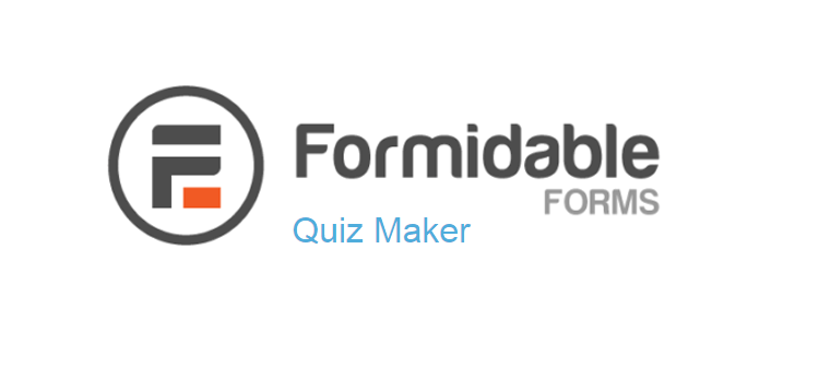 Item cover for download Formidable Forms - Quiz Maker