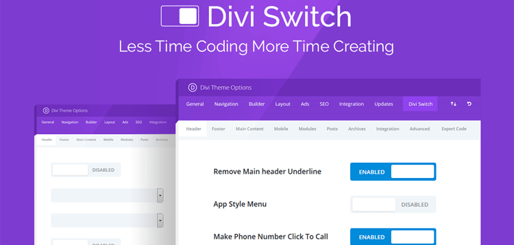 Item cover for download Divi Switch Pro
