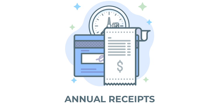 Item cover for download Give - Annual Receipts