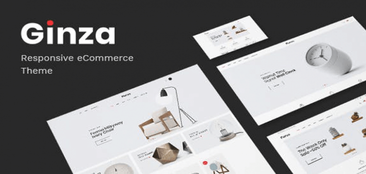 Item cover for download Ginza - Furniture Theme for WooCommerce WordPress