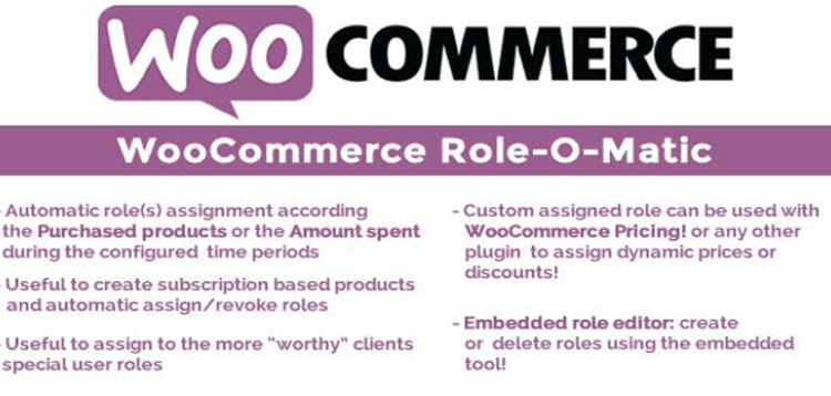 Item cover for download WooCommerce Role-O-Matic