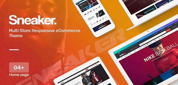 Item cover for download Sneaker - Shoes Theme for WooCommerce WordPress