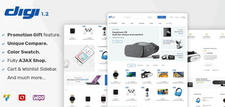 Item cover for download Digi - Electronics Store WooCommerce Theme