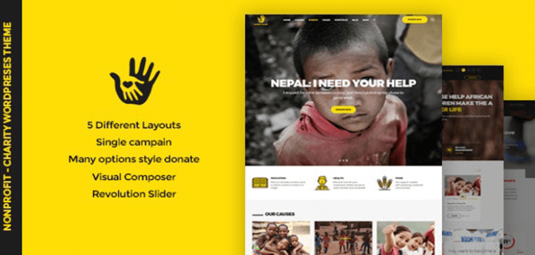 Item cover for download CharityHeart - Charity Responsive WordPress Theme