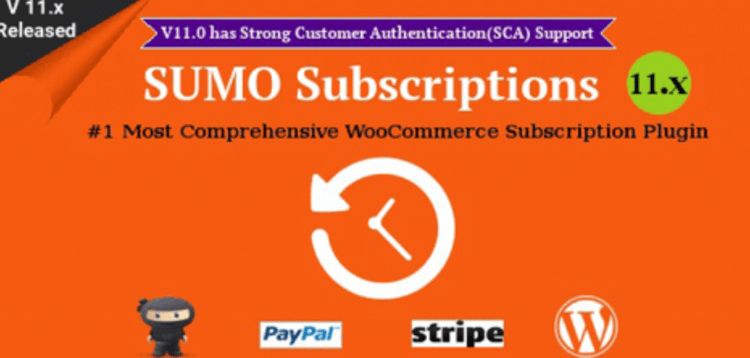 Item cover for download SUMO Subscriptions - WooCommerce Subscription System