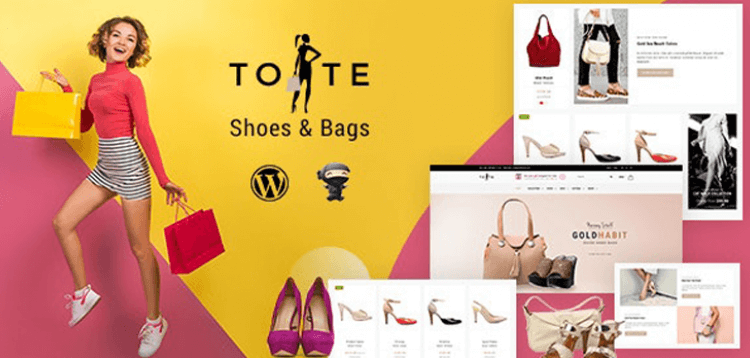 Item cover for download Tote - Shoe Store Theme