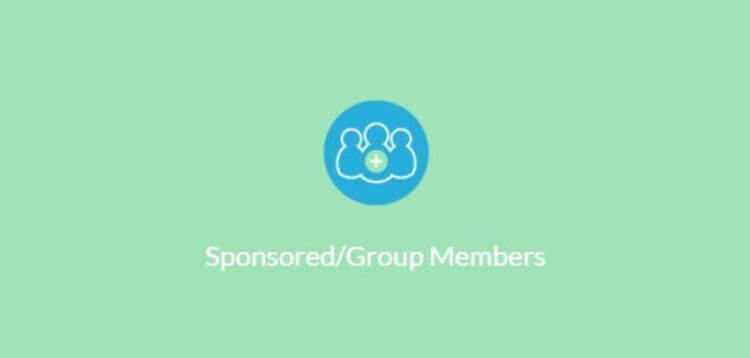 Item cover for download PAID MEMBERSHIPS PRO – SPONSORED/GROUP MEMBERS