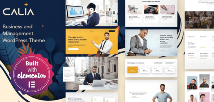 Item cover for download Calia - Business and Management WordPress Theme
