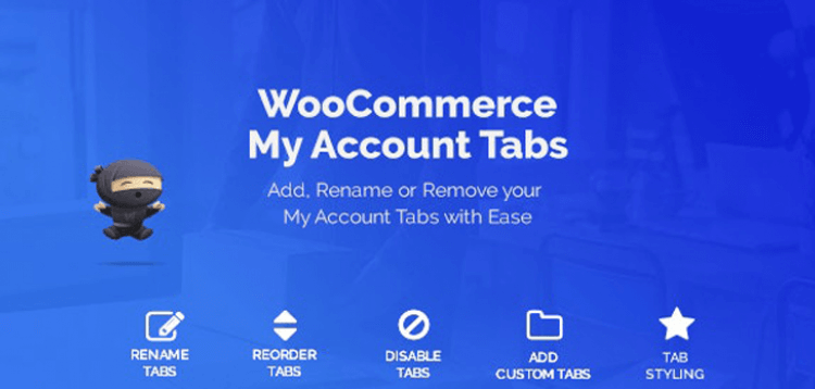 Item cover for download WooCommerce Custom My Account Pages