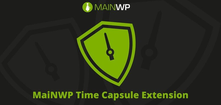 Item cover for download MAINWP – TIME CAPSULE EXTENSION