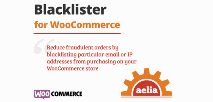 Item cover for download AELIA BLACKLISTER FOR WOOCOMMERCE