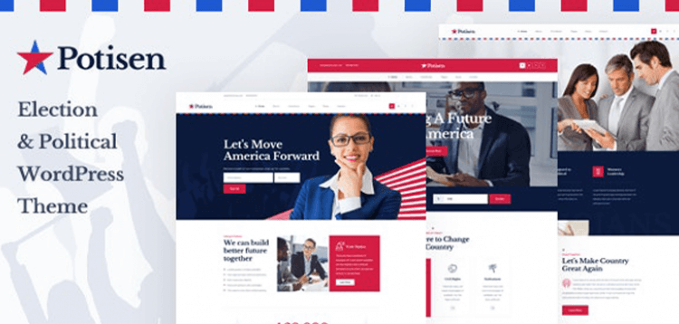Item cover for download Potisen - Election  Political WordPress Theme