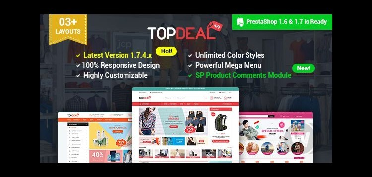 Item cover for download TopDeal - Multipurpose Responsive Theme