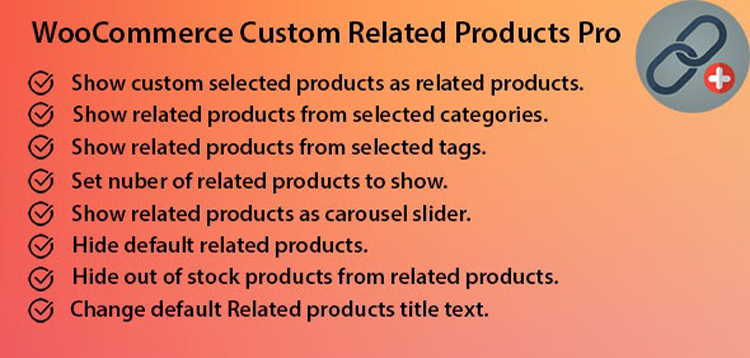 Item cover for download WooCommerce Custom Related Products Pro
