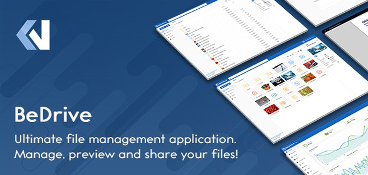 Item cover for download BeDrive - File Sharing and Cloud Storage