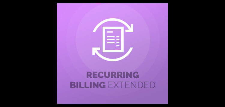Item cover for download Recurring Billing Extended For WHMCS
