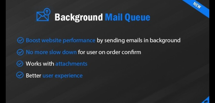 Item cover for download Background Mail Queue