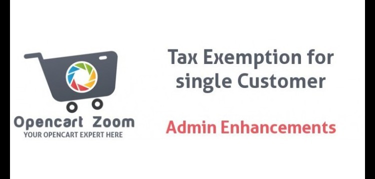 Item cover for download Tax Exemption per Single Customer - Admin controlled for Opencart