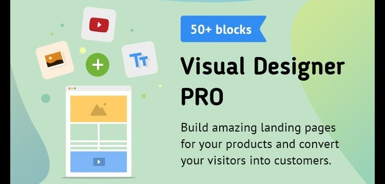 Item cover for download Visual Designer PRO (The First Page Builder for Opencart)