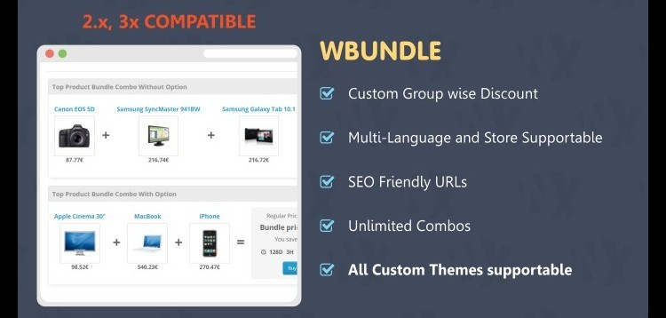 Item cover for download Wbundle - Sale Products in Combo for Opencart