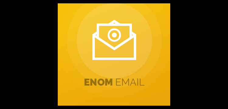 Item cover for download Enom Email For WHMCS
