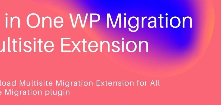Item cover for download All-in-One WP Migration Multisite Extension