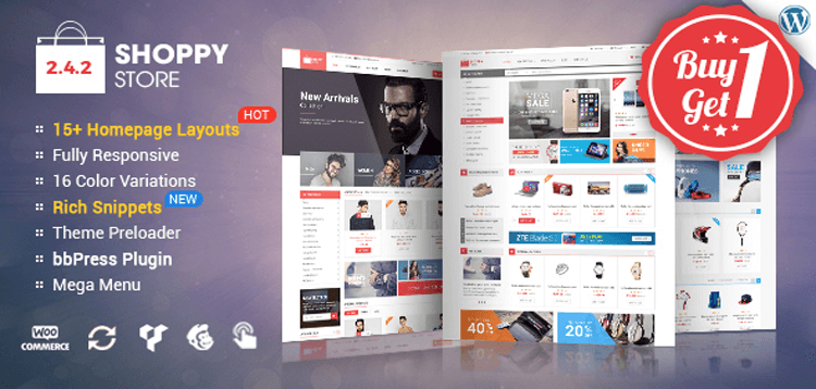 Item cover for download ShoppyStore - Multi-Purpose Responsive WooCommerce Theme